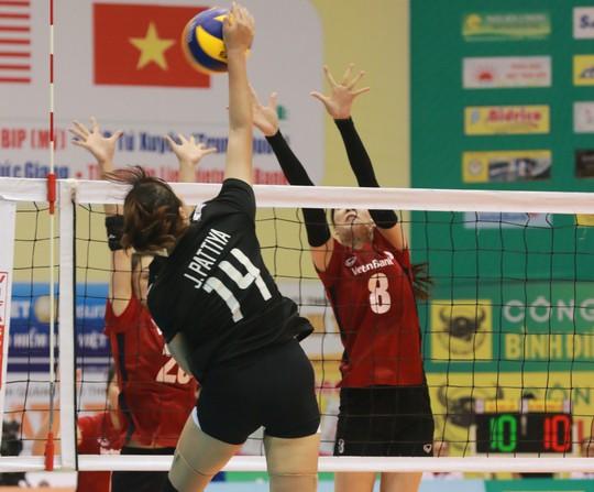 VTV Bình Điền Long An đánh bại Đại học Nam Kinh (Trung Quốc) - Ảnh 11.