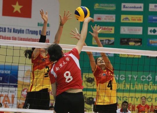 VTV Bình Điền Long An đánh bại Đại học Nam Kinh (Trung Quốc) - Ảnh 14.
