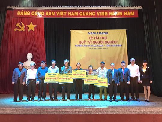 Nam A Bank chung tay vì người nghèo tỉnh Lâm Đồng - Ảnh 1.