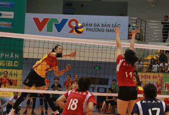 VTV Bình Điền Long An đánh bại Đại học Nam Kinh (Trung Quốc) - Ảnh 13.