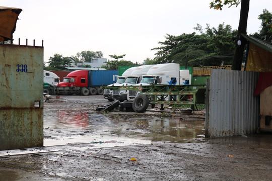 TP HCM nở rộ bãi xe container tự phát - Ảnh 1.