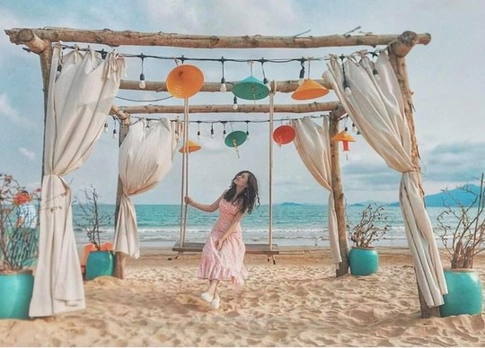 Thiên đường xanh Quy Nhơn với loạt ảnh check in đẹp mê mẩn - Ảnh 1.