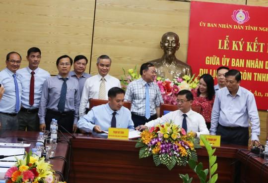 Saigontourist hợp tác chiến lược với tỉnh Nghệ An - Ảnh 1.