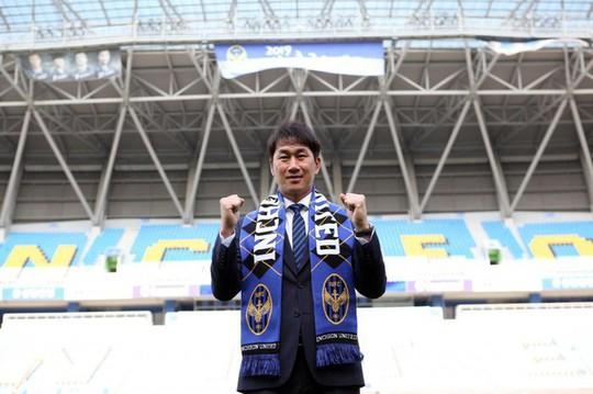 Tân HLV Incheon United là học trò cũ của HLV Park Hang-seo - Ảnh 1.