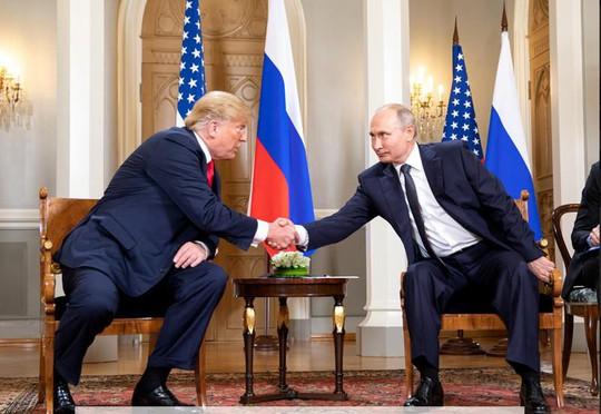 Ông Trump muốn hội đàm với ông Putin? - Ảnh 1.