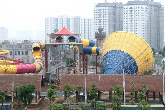 Sắp khai trương công viên nước Thanh Hà tại Hà Nội - Ảnh 1.