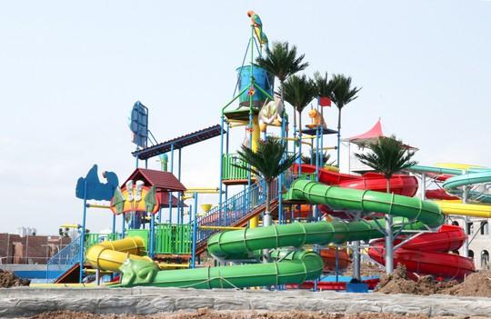 Sắp khai trương công viên nước Thanh Hà tại Hà Nội - Ảnh 3.