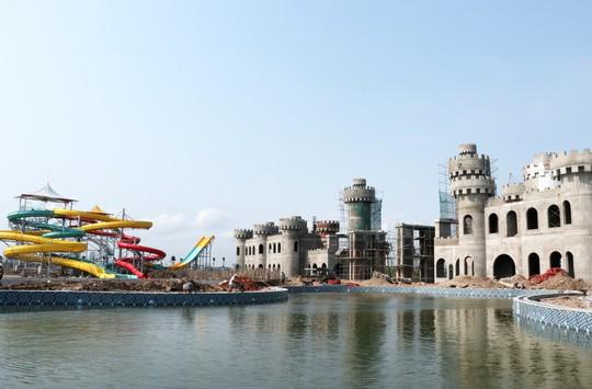 Sắp khai trương công viên nước Thanh Hà tại Hà Nội - Ảnh 5.