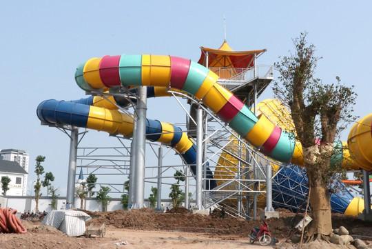 Sắp khai trương công viên nước Thanh Hà tại Hà Nội - Ảnh 6.