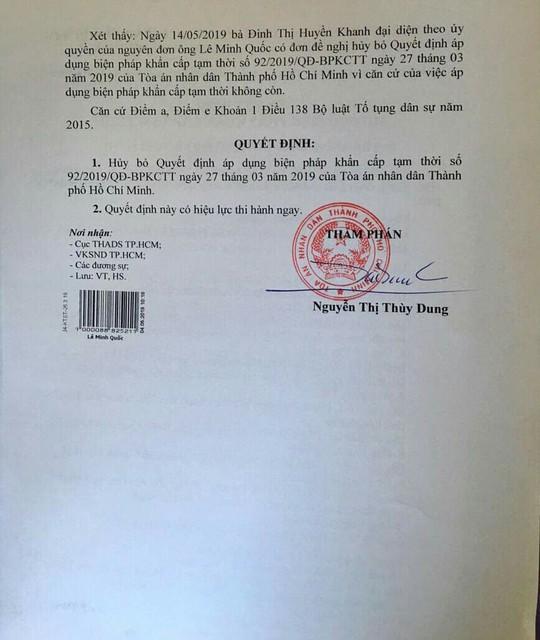 Ông Lê Minh Quốc bất ngờ rút đơn kiện HĐQT Eximbank - Ảnh 3.