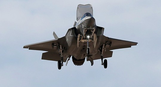 """""""Tia chớp"""" F-35 hỏng nặng vì bị chim đâm trúng - ảnh 1"""