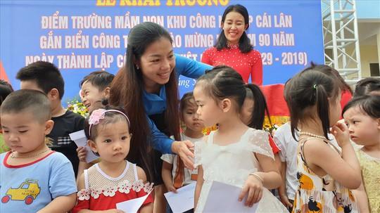 Quảng Ninh: Khánh thành trường mầm non cho con công nhân - Ảnh 1.