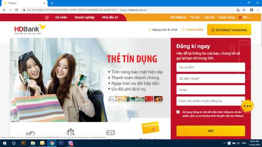 HDBank ra mắt website và ứng dụng mới HDBank mBanking - Ảnh 1.