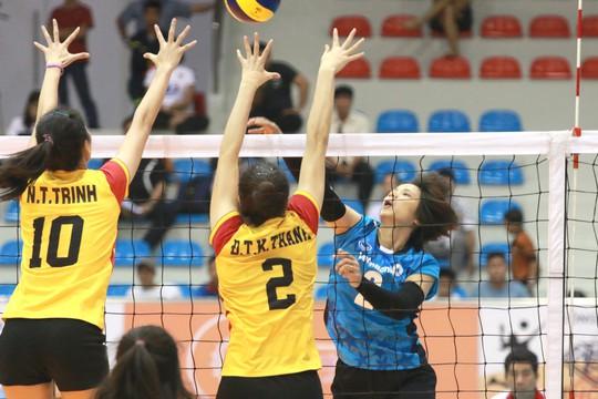 Rượt đuổi thót tim, VTV Bình Điền Long An đoạt vé bán kết - Ảnh 3.
