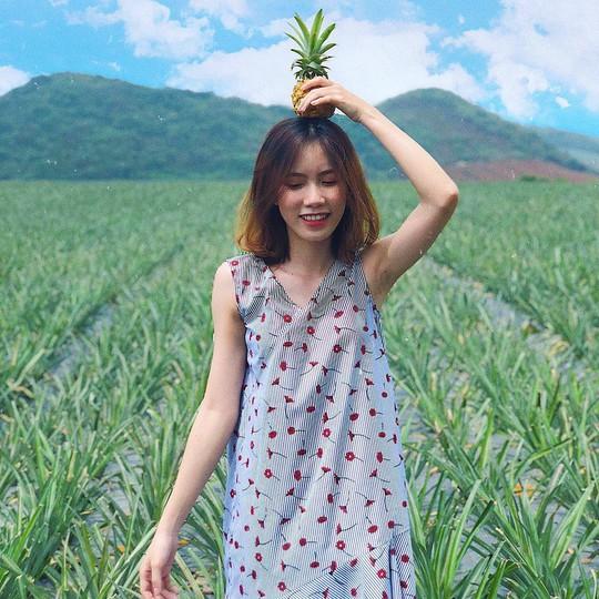 Cánh đồng dứa hút giới trẻ check-in ở Ninh Bình - Ảnh 8.