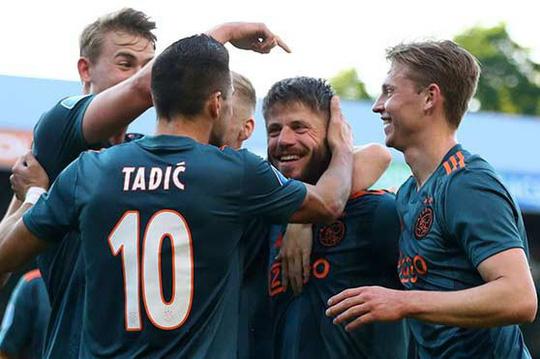Ajax lên ngôi vô địch Hà Lan, chuẩn bị bán sạch đội hình toàn sao - Ảnh 3.