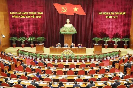 Khai mạc Hội nghị Trung ương 10, bàn nhiều vấn đề quan trọng của Đảng và đất nước - Ảnh 3.