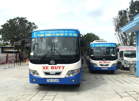 Nhiều tuyến xe buýt Nha Trang tê liệt vì tài xế ngưng chạy - ảnh 2