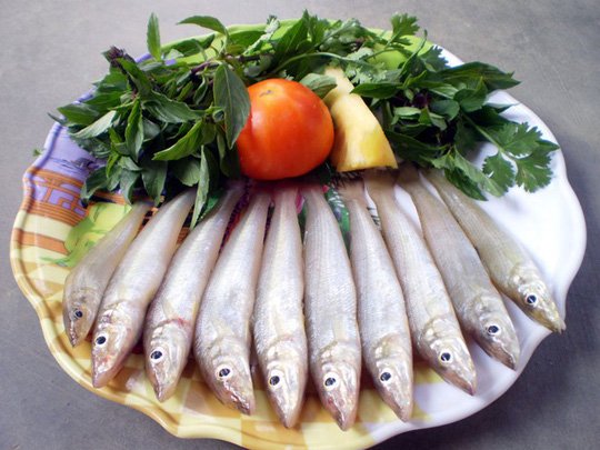 Cá đục nướng và nấu canh chua - Ảnh 1.