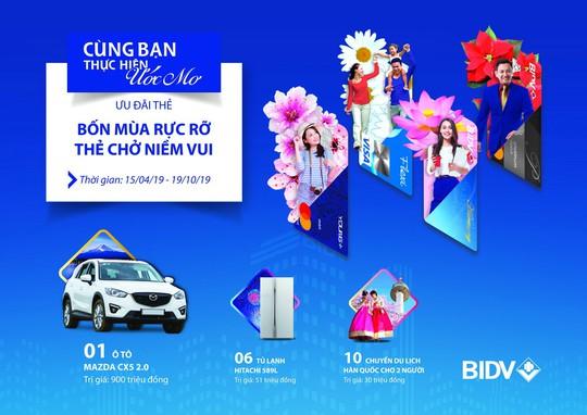 Cùng thẻ BIDV giải nhiệt mùa hè - Ảnh 1.