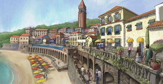 """Theming giả cổ: nghệ thuật kiến tạo """"thị trấn Amalfi"""" trên đảo Ngọc - Ảnh 4."""