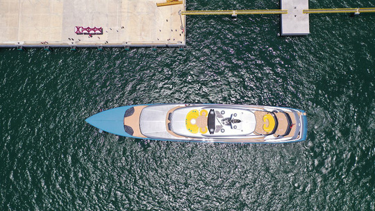 Tỉ phú Joe Lewis ấn tượng với Cảng tàu khách quốc tế Hạ Long - Ảnh 2.