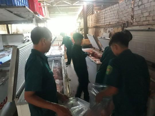 Phát hiện hơn 4 tấn thịt nhiễm dịch tả heo châu Phi tại Đồng Nai - Ảnh 1.