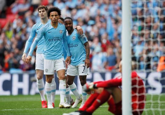Vùi dập Watford, Man City đoạt ngôi vô địch FA Cup sau 8 năm - Ảnh 2.