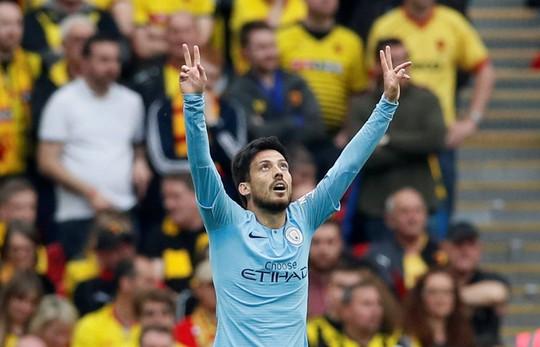 Vùi dập Watford, Man City đoạt ngôi vô địch FA Cup sau 8 năm - Ảnh 3.