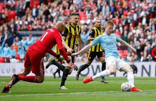 Vùi dập Watford, Man City đoạt ngôi vô địch FA Cup sau 8 năm - Ảnh 4.