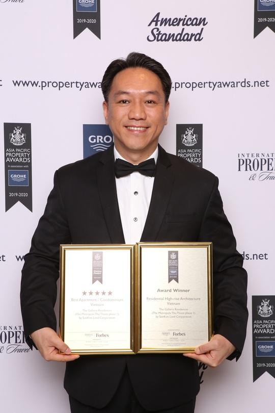 SonKim Land đạt 2 giải tại Lễ trao giải Bất động sản Châu Á Thái Bình Dương 2019      - Ảnh 3.