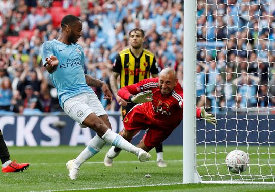 Vùi dập Watford, Man City đoạt ngôi vô địch FA Cup sau 8 năm - Ảnh 6.
