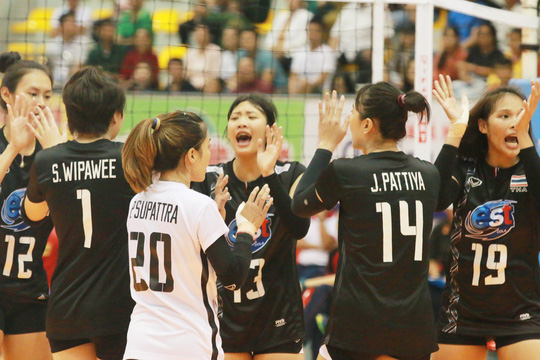 VTV Bình Điền Long An thua ngược U23 Thái Lan - Ảnh 1.