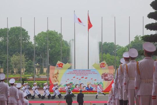 Bộ trưởng Quốc phòng Nhật Bản thăm chính thức Việt Nam - ảnh 6