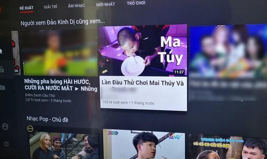 Sau Khá Bảnh, YouTube VN lại xuất hiện video hướng dẫn chơi ma túy - Ảnh 1.