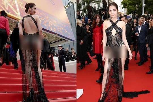Tuyển tập bình phẩm về bộ váy Ngọc Trinh - Ảnh 1.