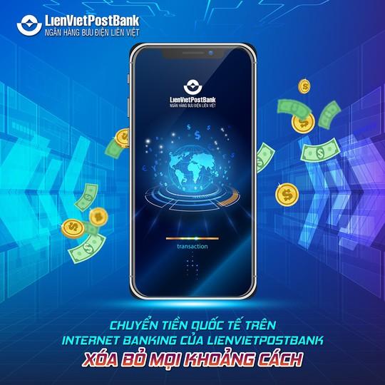 Dùng Intetnet Banking chuyển tiền quốc tế tại LienVietPostBank - Ảnh 1.
