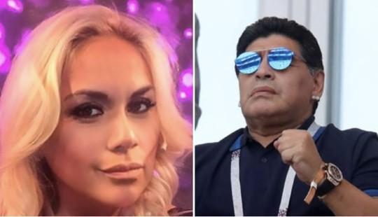 Bạn gái tố nợ, Maradona bị bắt ở sân bay Mexico - Ảnh 1.