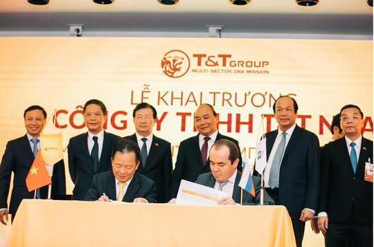 Tập đoàn T&T Group lập công ty con tại Nga - Ảnh 3.