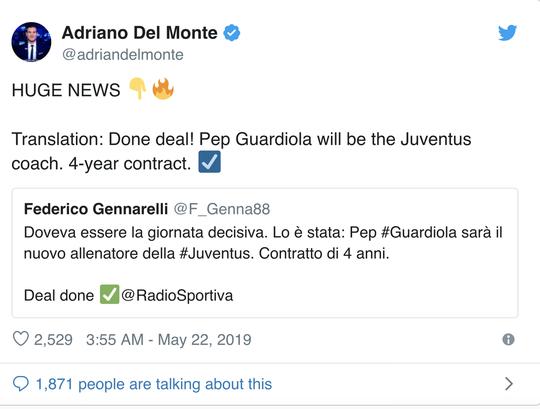 Sốc: Pep Guardiola đã ký hợp đồng 4 năm với Juventus? - Ảnh 3.