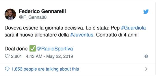 Sốc: Pep Guardiola đã ký hợp đồng 4 năm với Juventus? - Ảnh 2.