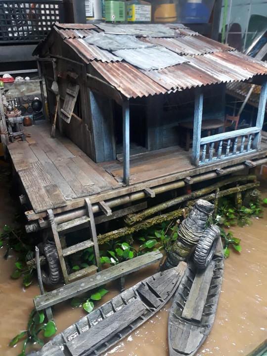 Nhà nổi trên sông Việt Nam làm người Nhật xao xuyến - Ảnh 3.