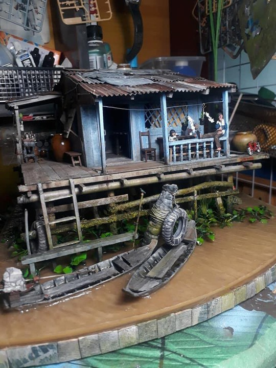 Nhà nổi trên sông Việt Nam làm người Nhật xao xuyến - Ảnh 15.