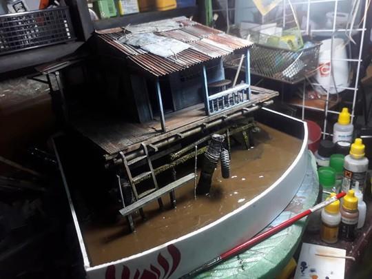 Nhà nổi trên sông Việt Nam làm người Nhật xao xuyến - Ảnh 8.
