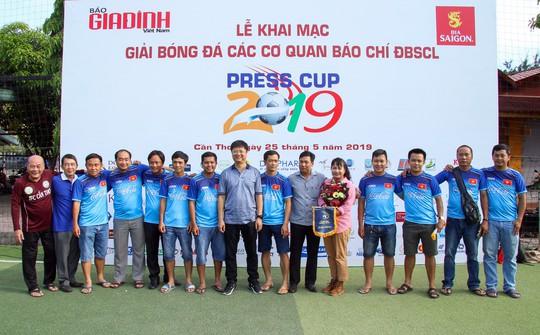 10 đội báo chí tham dự Giải Press Cup ĐBSCL 2019 - Ảnh 6.