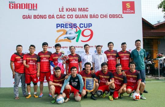 10 đội báo chí tham dự Giải Press Cup ĐBSCL 2019 - Ảnh 5.