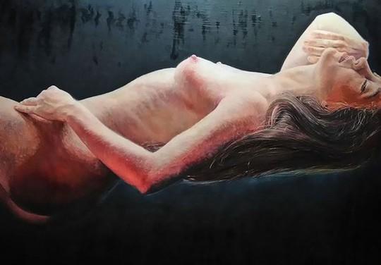 Cận cảnh bức tranh khỏa thân giá triệu USD của họa sĩ Lê Phổ - Ảnh 10.