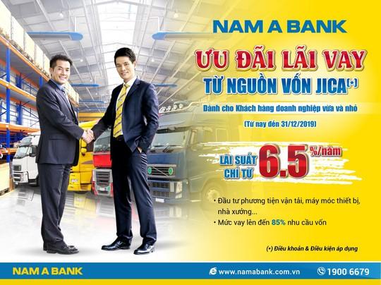 Nam A Bank ưu đãi lãi vay từ 6,5%/năm cho doanh nghiệp vừa và nhỏ - Ảnh 1.