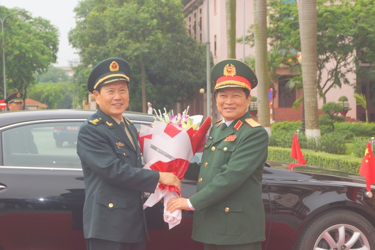 Bộ trưởng Quốc phòng Việt Nam - Trung Quốc nói về Biển Đông tại Hà Nội - ảnh 1