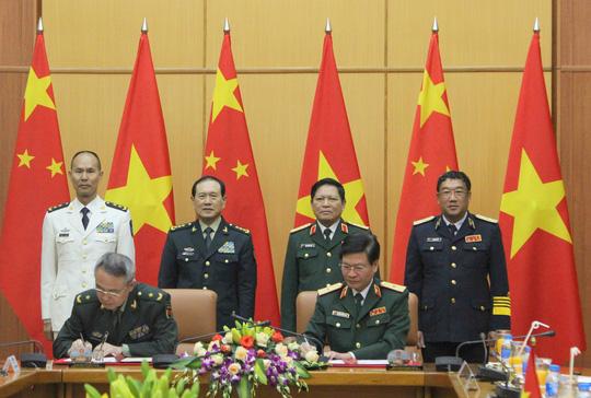 Bộ trưởng Quốc phòng Việt Nam - Trung Quốc nói về Biển Đông tại Hà Nội - ảnh 7